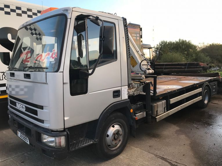 Iveco Recovery truck with Hiab, 7.5t